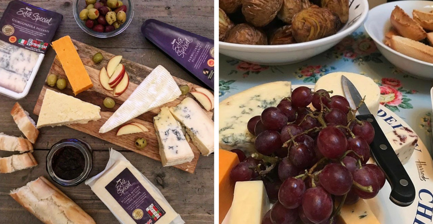 The Perfect  Christmas Cheese Board