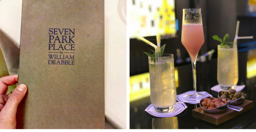 Dinner at Seven Park Place by William Drabble